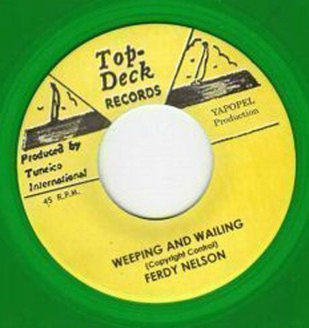 Roland Alphonso - Weeping And Wailing / El Cid