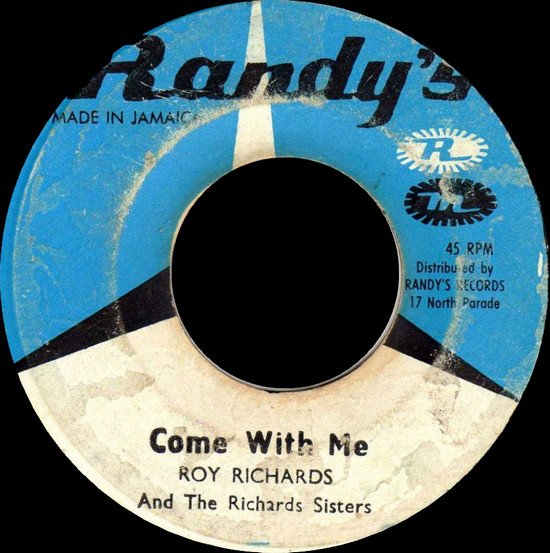 Roy Richards - Come With Me / Since I Found You
