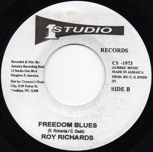 Roy Richards - Freedom Blues / A Love I Can Feel
