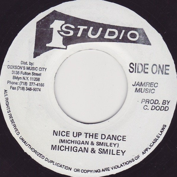 Roy Richards - Nice Up The Dance / Western Standard Time