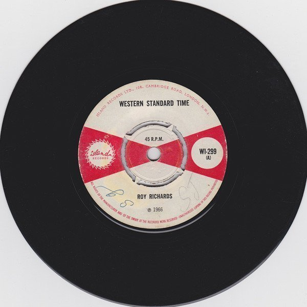 Roy Richards - Western Standard Time / What A Agony
