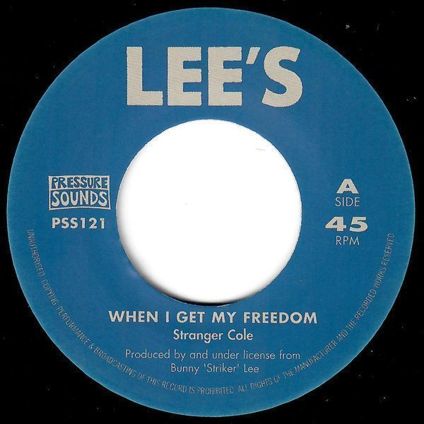 Roy Richards - When I Get My Freedom / Death Rides A Horse