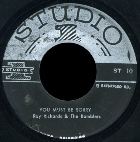 Roy Richards - You Must Be Sorry