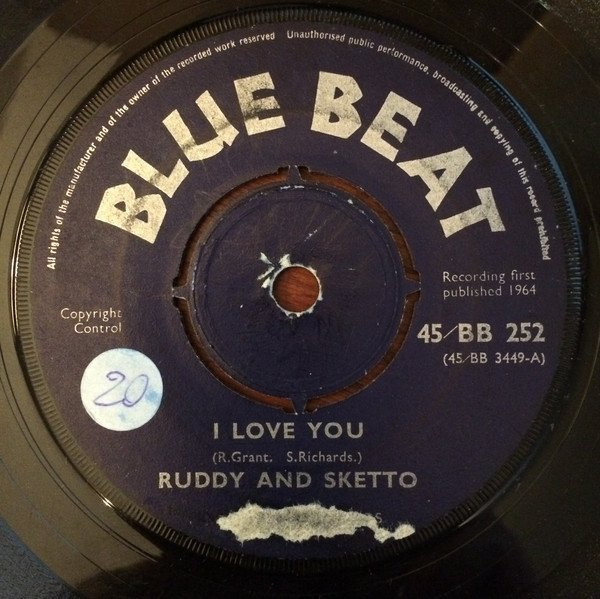 Ruddy And Sketto Baron Twist And His Knights - I Love You / If Only Tomorrow