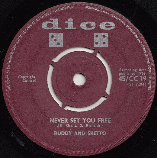 Ruddy And Sketto Baron Twist And His Knights - Never Set You Free / Brothers And Sisters