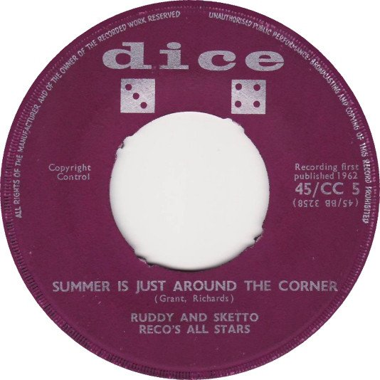 Ruddy And Sketto Baron Twist And His Knights - Summer Is Just Around The Corner / Nothing But Time