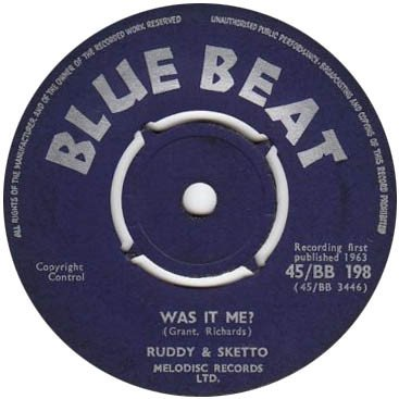 Ruddy And Sketto Baron Twist And His Knights - Was It Me? / Minna Don