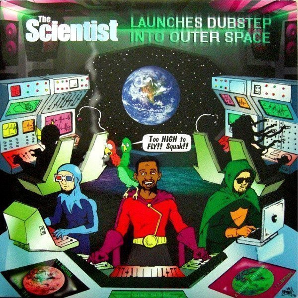 Scientist - The Scientist Launches Dubstep Into Outer Space