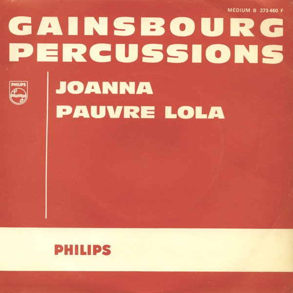 Serge Gainsbourg - Percussions
