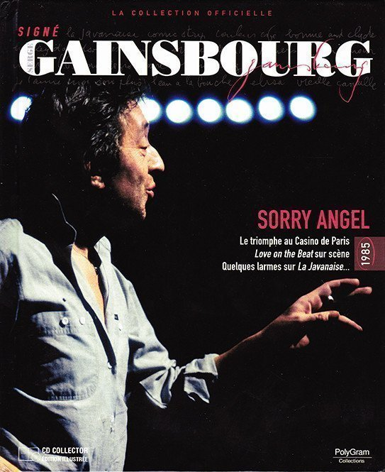 Serge Gainsbourg - Signé Gainsbourg - La Collection Officielle [25] - Sorry Angel - 1985