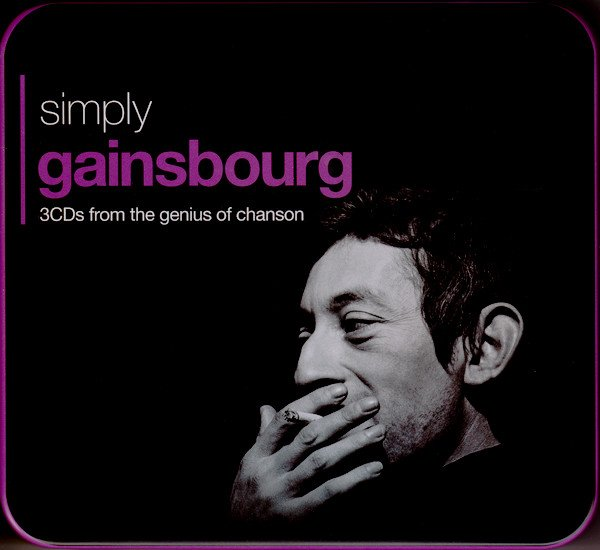 Serge Gainsbourg - Simply Gainsbourg (3 CDs From The Genius Of Chanson)