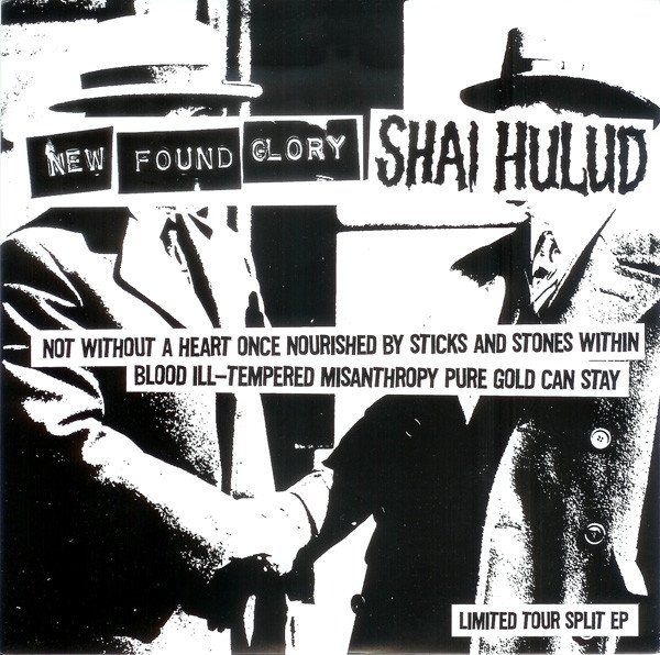 shaihulud - Not Without A Heart Once Nourished By Sticks And Stones Within Blood Ill-Tempered Misanthropy Pure Gold Can Stay (Limited Tour Split EP)