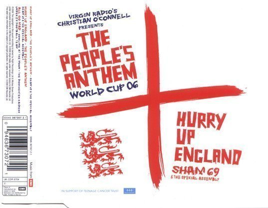 Sham 69 - Hurry Up England (The People