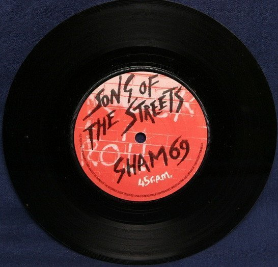 Sham 69 - Song Of The Streets