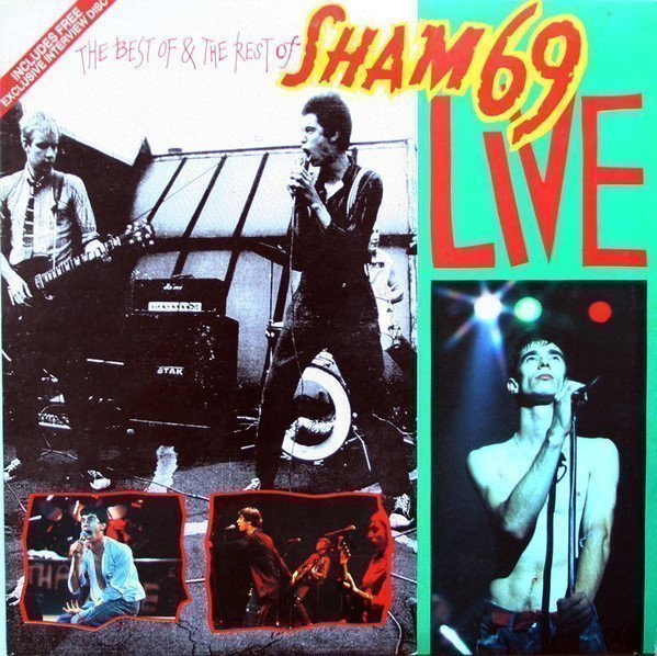 Sham 69 - The Best Of & The Rest Of Sham 69 Live