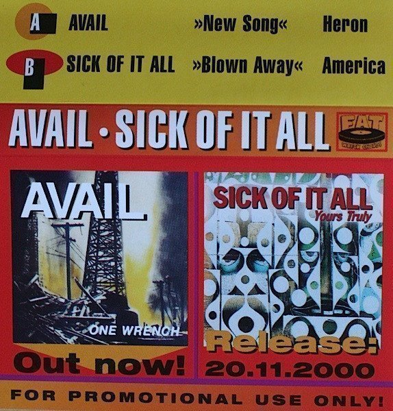 Sick Of It All - Avail • Sick Of It All