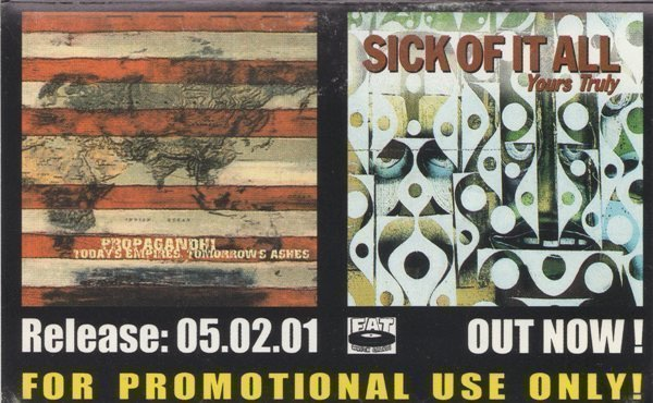 Sick Of It All - Propagandhi • Sick Of It All
