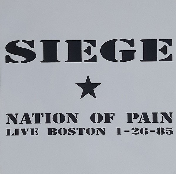 Siege - Nation Of Pain
