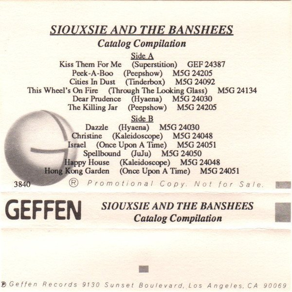 Siouxsie  The Banshees - Catalog Compilation