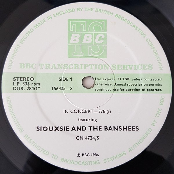 Siouxsie  The Banshees - In Concert-378