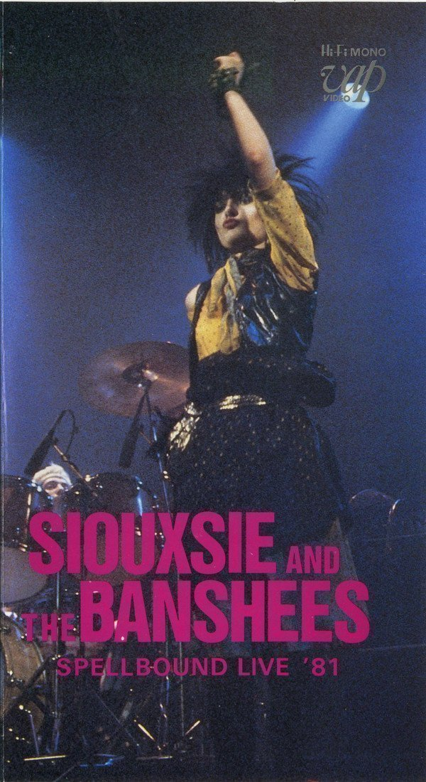 Siouxsie  The Banshees - Spellbound Live