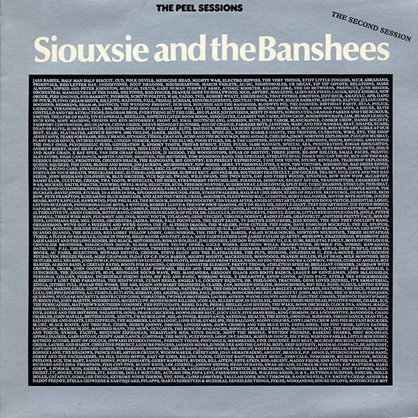 Siouxsie  The Banshees - The Peel Sessions (The Second Session)