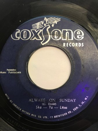 Skatalites - Another Chance /Always On Sunday