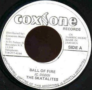 Skatalites - Ball Of Fire / By My Side