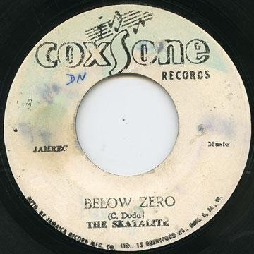 Skatalites - Below Zero / Lady With The Red Dress