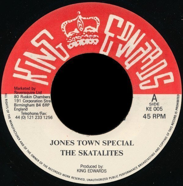 Skatalites - Jones Town Special / Ungodly People