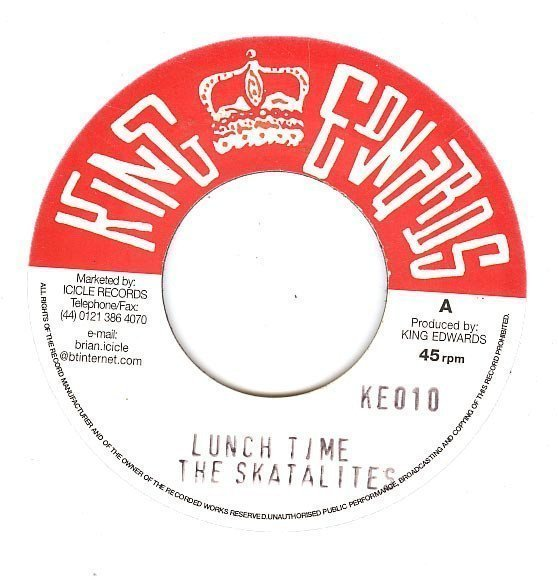Skatalites - Lunch Time / Gone Is Yesterday