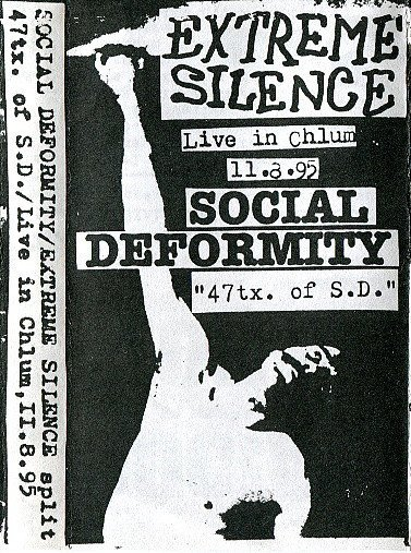 "Social Deformity - ""47tx. Of S.D."" / Live In Chlum, 11.8.95"