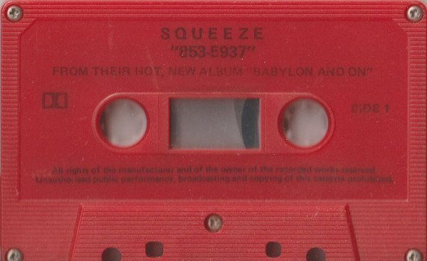 Squeeze - 853 5937