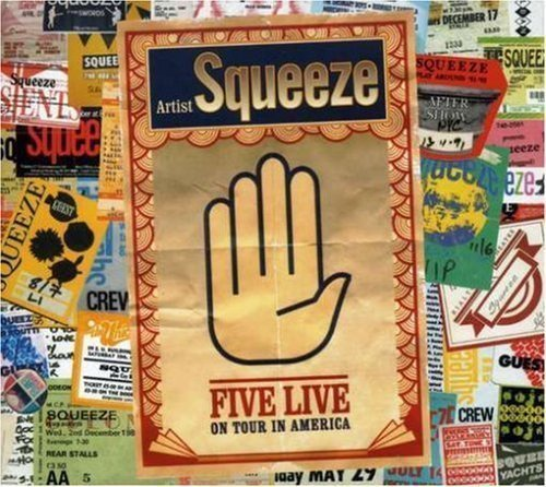 Squeeze - Five Live: On Tour In America
