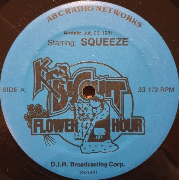Squeeze - King Biscuit Flower Hour