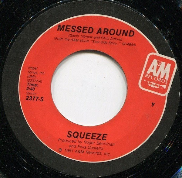 Squeeze - Messed Around / Yap, Yap, Yap