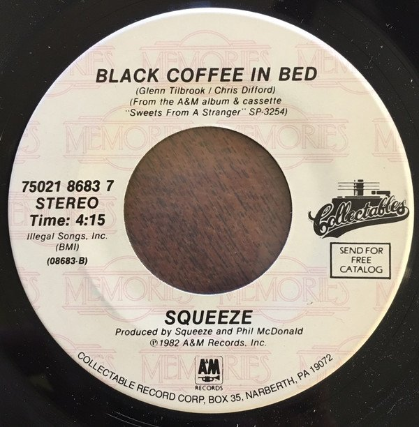 Squeeze - Tempted / Black Coffee in Bed