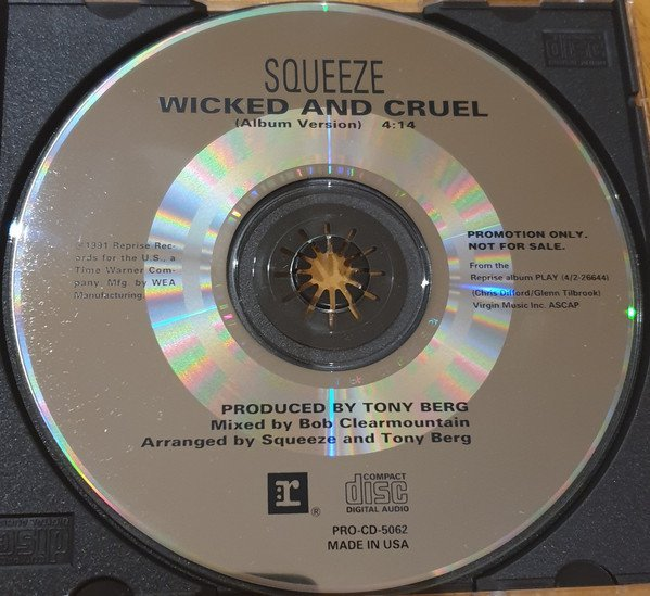 Squeeze - Wicked And Cruel