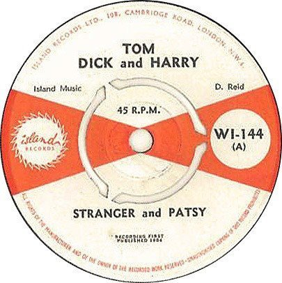 Stranger And Ptsy - Tom Dick And Harry / We Two Happy People