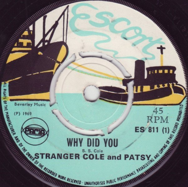 Stranger And Ptsy - Why Did You / Do You Remember