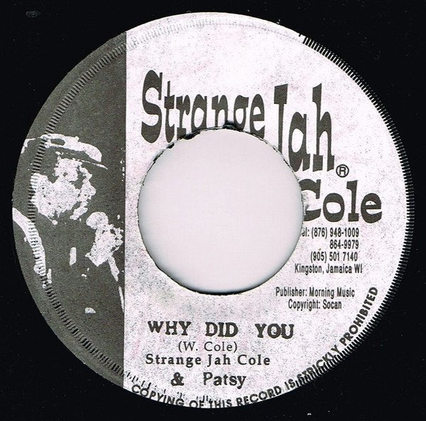 Stranger And Ptsy - Why Did You / Ruff & Tuff