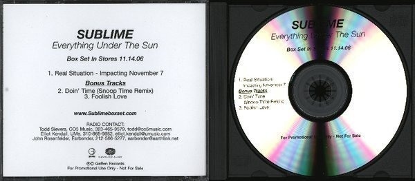 Sublime - Everything Under The Sun