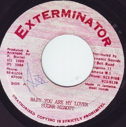 Sugar Minott - Baby You Are My Lover