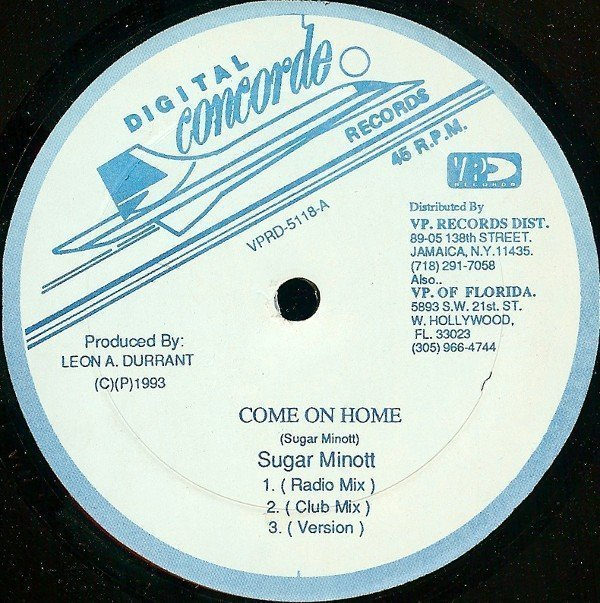 Sugar Minott - Come On Home / Being With You