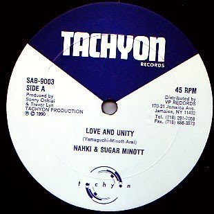 Sugar Minott - Love And Unity / Sherrie B Is In Effect