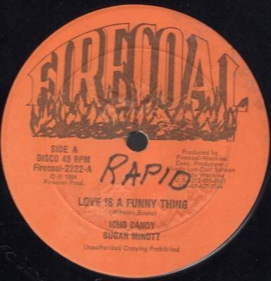 Sugar Minott - Love Is A Funny Thing