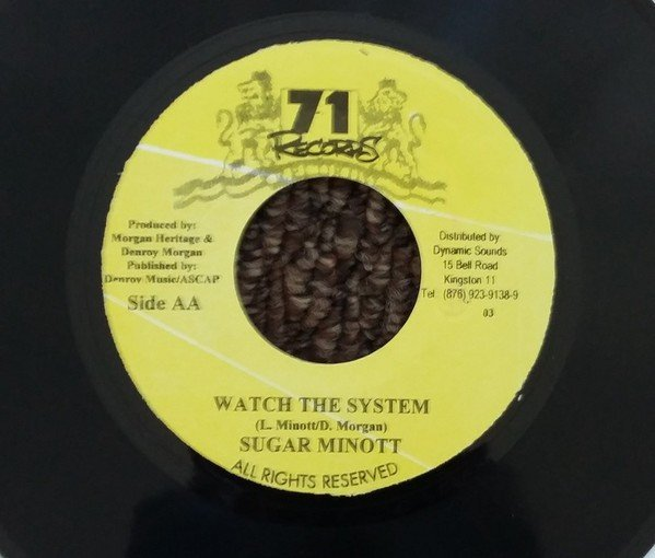 Sugar Minott - Revelation Come To Pass / Watch The System