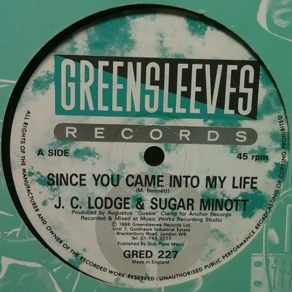 Sugar Minott - Since You Came Into My Life