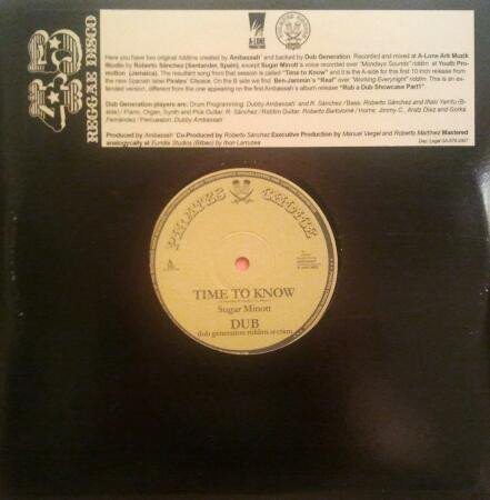 Sugar Minott - Time To Know / Real