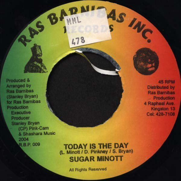 Sugar Minott - Today Is The Day